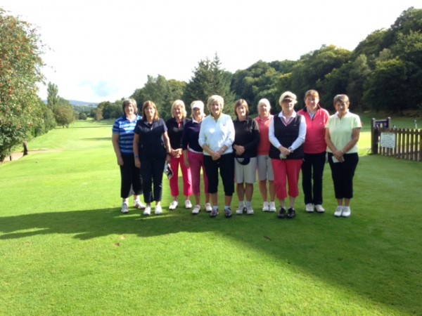 Lady Captain's team