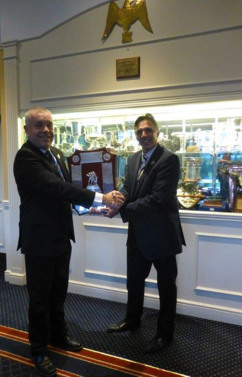 The handing over of the GowGlen Shield