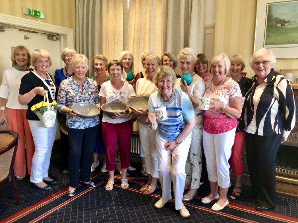 Prizewinners Lady Captains Day
